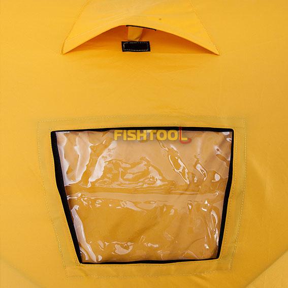 Окно и вентиляция палаток BigHouse 2, DreamHouse 2