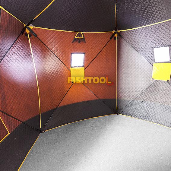 Внутри палатки PentaHouse 5T