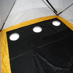 Установленный пол в палатке FishHouse 3T