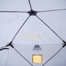 Внутри трехслойной палатки PentaHouse 5T