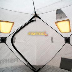 Внутри трехслойной палатки DreamHouse 2T
