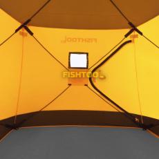 Внутри палатки для рыбалки DreamHouse 2