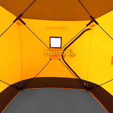 Внутри палатки FishHouse