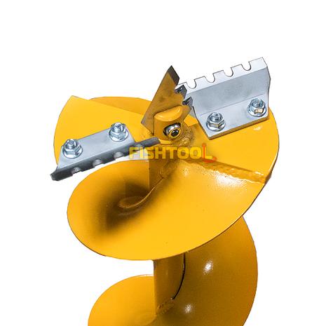 Мотобур для рыбалки (мотоледобур) Iron Mole E53 Ice, шнек D 150