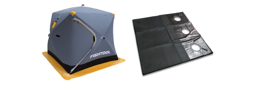 Новая палатка с полом FishHouse 3T